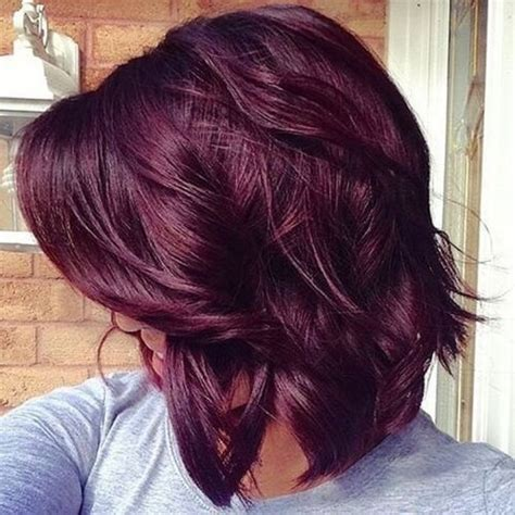 brown plum hair color dark brown hairstyles with plum highlights of medium plum