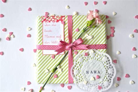 ideen zum muttertag geschenkverpackung zum muttertag frl selbstgemacht