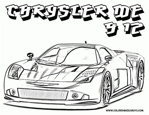 really cool cars pictures az coloring pages