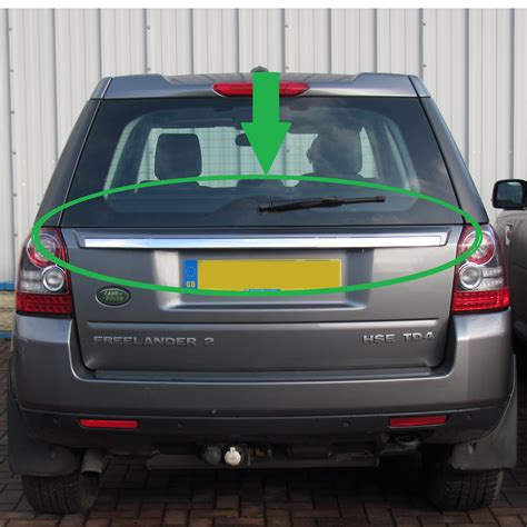 land rover freelander tailgate handle 2012 style rear tailgate upgrade trim panel conversion
