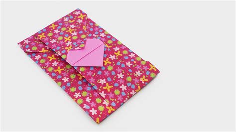 Origami Envelope Diagram - origami origami how to d origami box how to origami