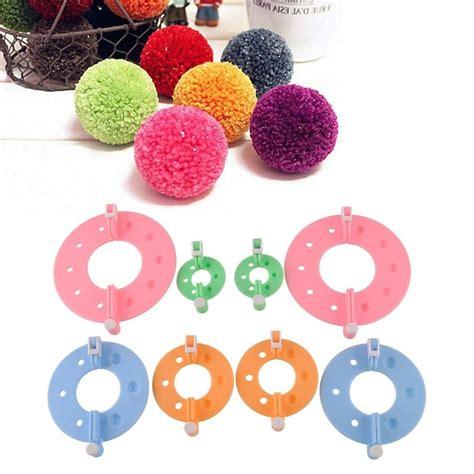 Pom Pom Maker pom pom maker fluff weaver needle knitting wool tool