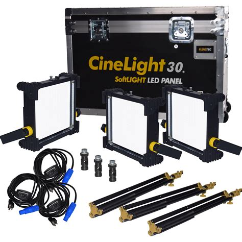 led lights for video production fluotec cinelight production 30 tunable softlight led