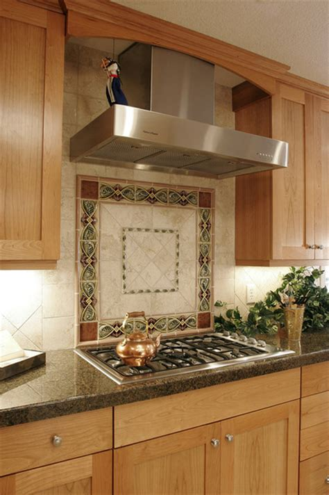 Beautiful Kitchen Backsplash Beautiful Kitchen Tile Backsplash Traditional Kitchen Portland By Kirstin Havnaer