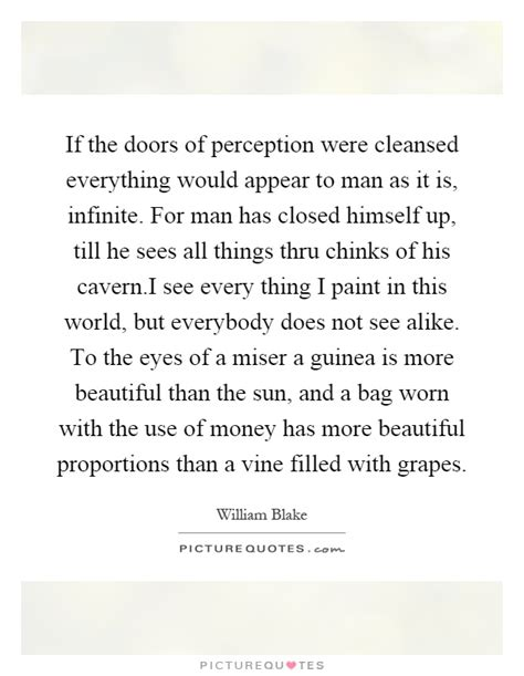 The Doors Of Perception Quotes by Guinea Quotes Guinea Sayings Guinea Picture Quotes
