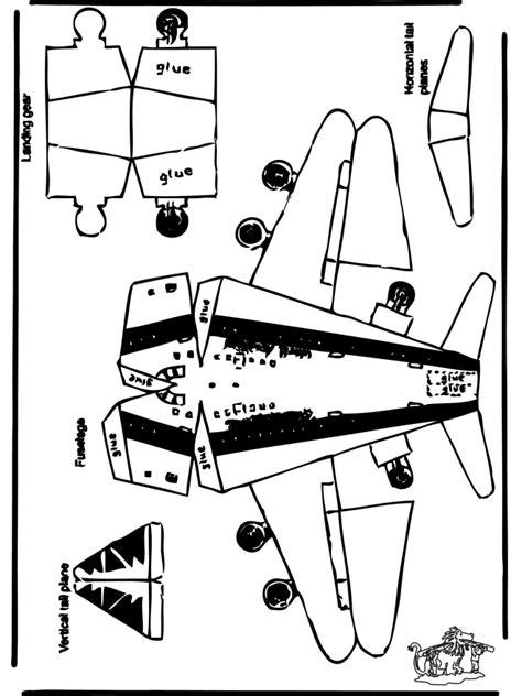 Paper Craft Aeroplane - papercraft plane