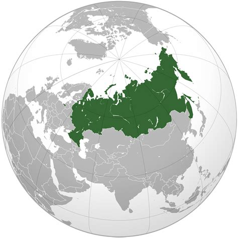 russia map earth location of the russia in the world map