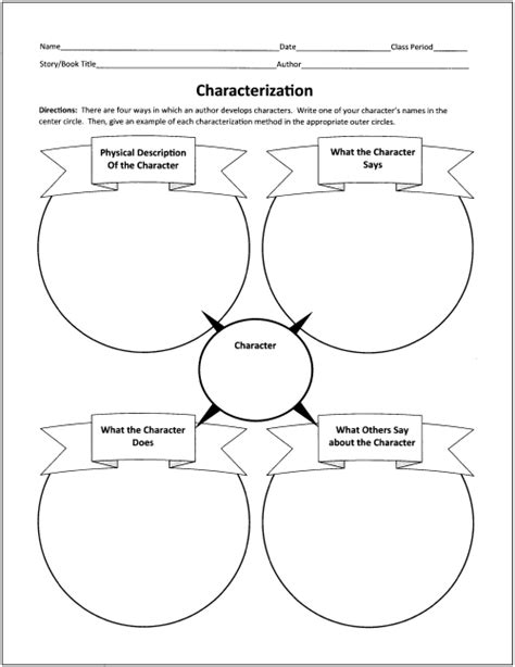 printable reading comprehension graphic organizers free graphic organizers for teaching literature and reading