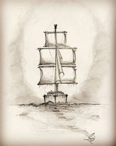 drawing of boat scenery 25 best ideas about sailboat drawing on pinterest ocean