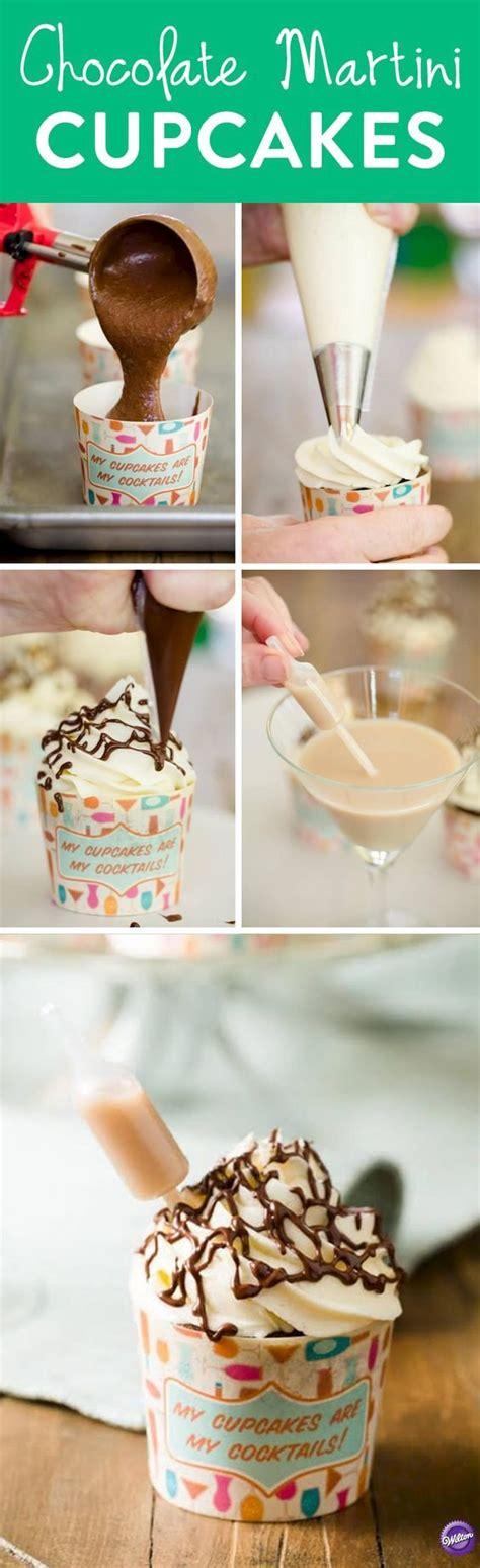martini cupcake chocolate martini cupcakes cupcake project