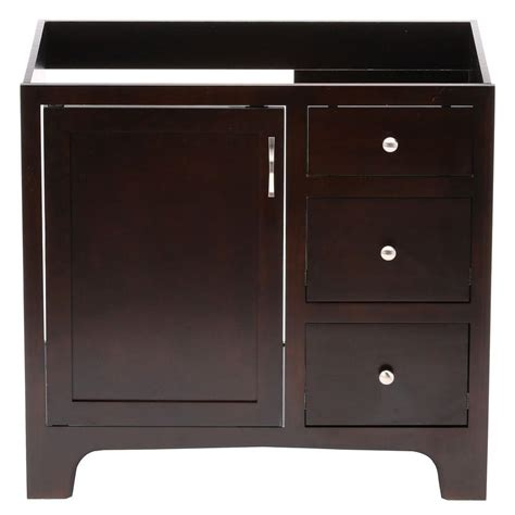 36 x 18 vanity cabinet design house wyndham 36 in w x 18 in d unassembled