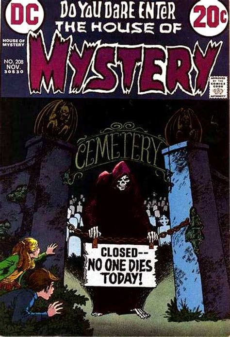 house of mystery vol 1 208 dc comics database