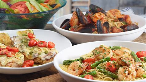 Olive Garden Adds Lower Calorie Mediterranean Dishes To Their Menus Olive Garden Take You To The Mediterranean With New Menu Items