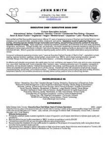 click here to this executive chef resume template