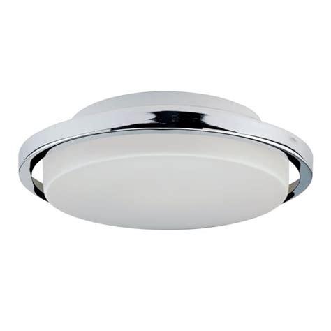 Ceiling Light Surround Contemporary Flush Bathroom Ceiling Light With Chrome Ring Surround