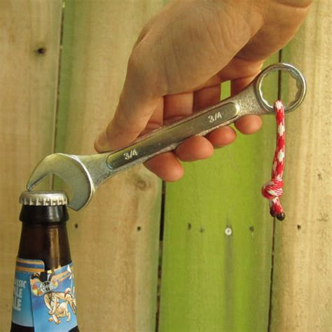 diy projects for men diy idea make a wrench bottle opener man made diy