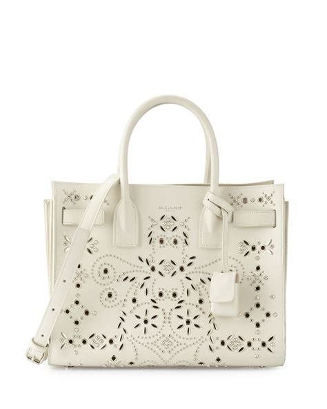 Bandana Baby Celyne classic small sac de jour bag in pale blush leather ysl mens duffle bag