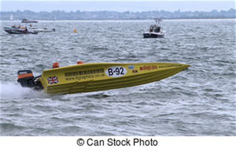fast yellow boat boat motor racing speed boat fast yellow images and stock