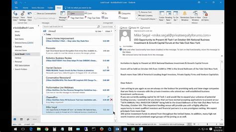 Search Order How To Fix The Date Search Order In Outlook 2016 And 2013