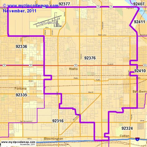 rialto california map zip code map of 92376 demographic profile residential