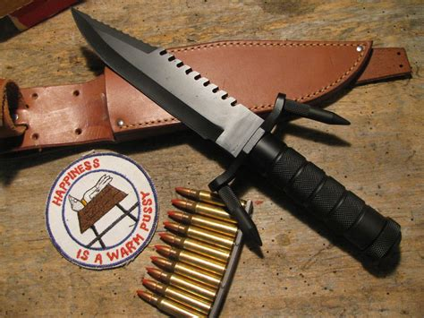 buck 184 survival knife for sale buck 184 survival knife spikes upgraded leather sheath new