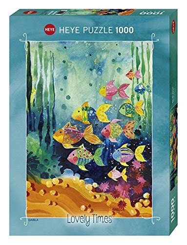 Heye Puzzle 1000 Pieces Shoal Of Fish puzzle lovely times shoal of fish heye 29779 1000 pieces