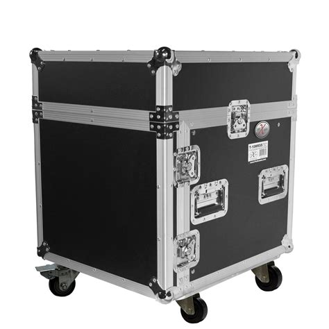 Dj Rack by Pro X Cases Prox T 10mrlt 10 Space 10 Slanted Top 10u