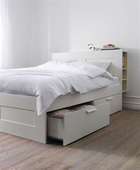 cabinet beds ikea brimnes bed frame with storage white storage bedrooms
