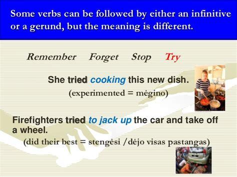 pattern verbs forget verb patterns