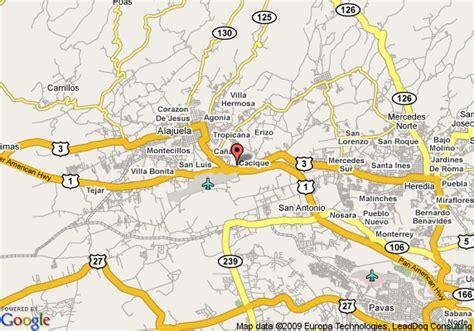 san jose map hotels hton inn suites airport san jose costa rica deals