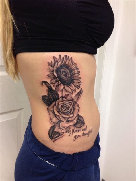 75 sunflower tattoos designs mens craze