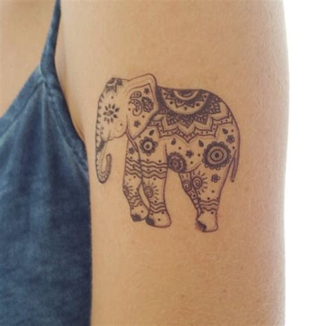 elephant tattoo henna 45 henna elephant tattoos