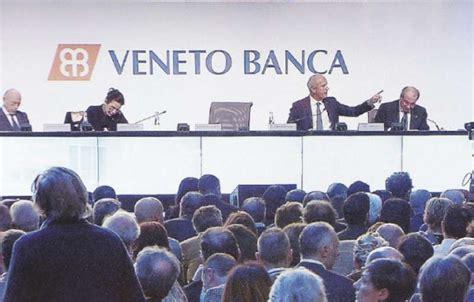 veneto banca cardano al co veneto banca elargiva prestiti agli amici costruttori e
