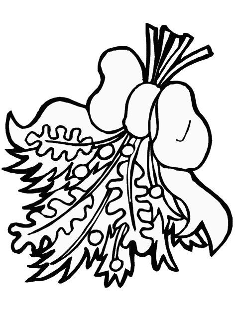 mistletoe coloring pages az coloring pages