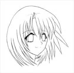9 anime girl coloring pages jpg ai illustrator