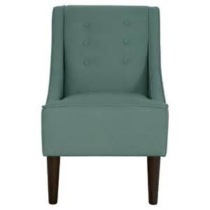 threshold swoop arm chair turq target