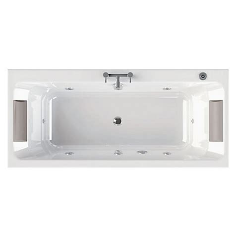 Olney Double Ended Bath  Gold Whirlpool
