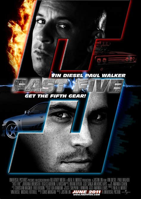 movie fast and furious 5 affiches et pochettes fast and furious 5 de justin lin