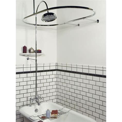 shower curtain rails for freestanding baths can a modern freestanding bathtub also be a shower