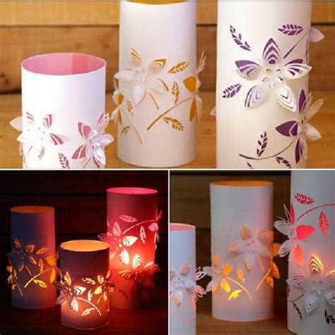 How To Make Flower Paper Lanterns - diy dimensional flower paper lanterns