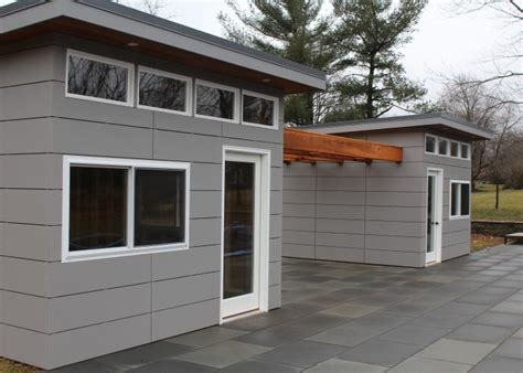 Garage With Inlaw Suite Amazing Modern Prefab Sheds And Studios The Urban 360