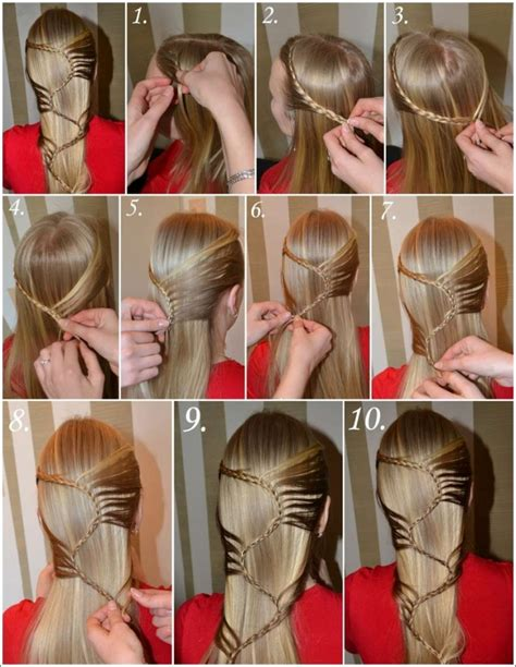 cool step by step hairstyles 65 latest long hair step by step hairstyles for girls