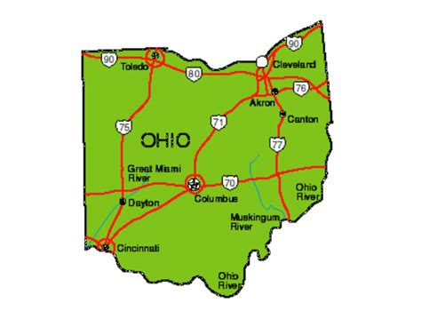 ohio on a map of the united states maps update tourist attractions map in columbus ohio