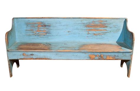 chalk paint bench ideas unpretentious blue painted wood bench
