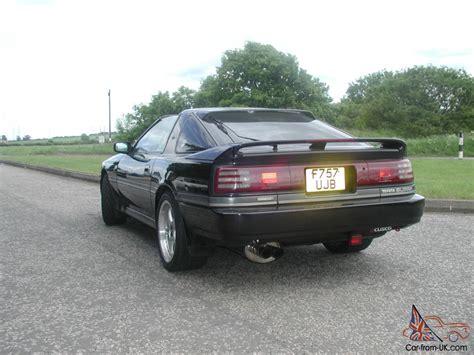 1989 Toyota Supra Turbo Toyota Supra Turbo Auto 1989 Black