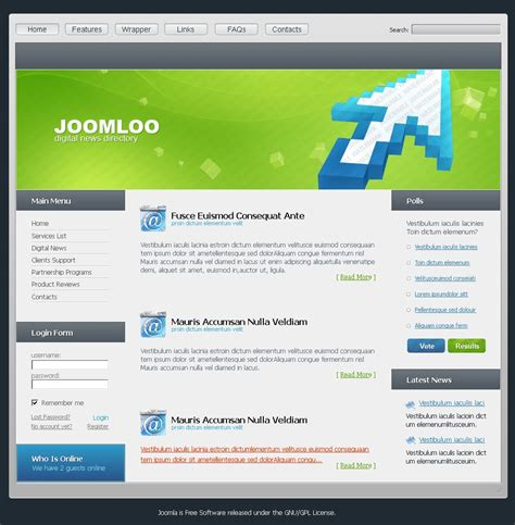 edit layout joomla template free joomla templates free joomla themes