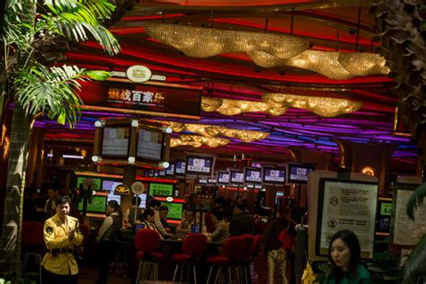 casinos with table in york macau looks beyond as the take from the tables