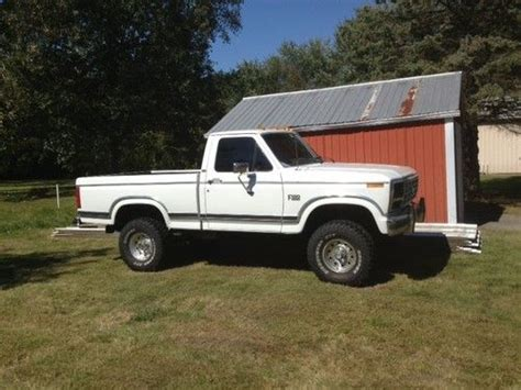 how to learn about cars 1986 ford e series security system purchase used 1986 ford f 150 4x4 v8 302 33 tires in clio michigan united states