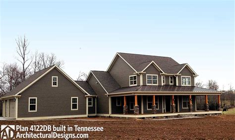 designs farmhouse plan wm client built in north carolian architectural designs