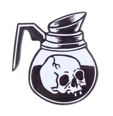 death before decaf tattoo cat coven coffee of pin clothing and accessories